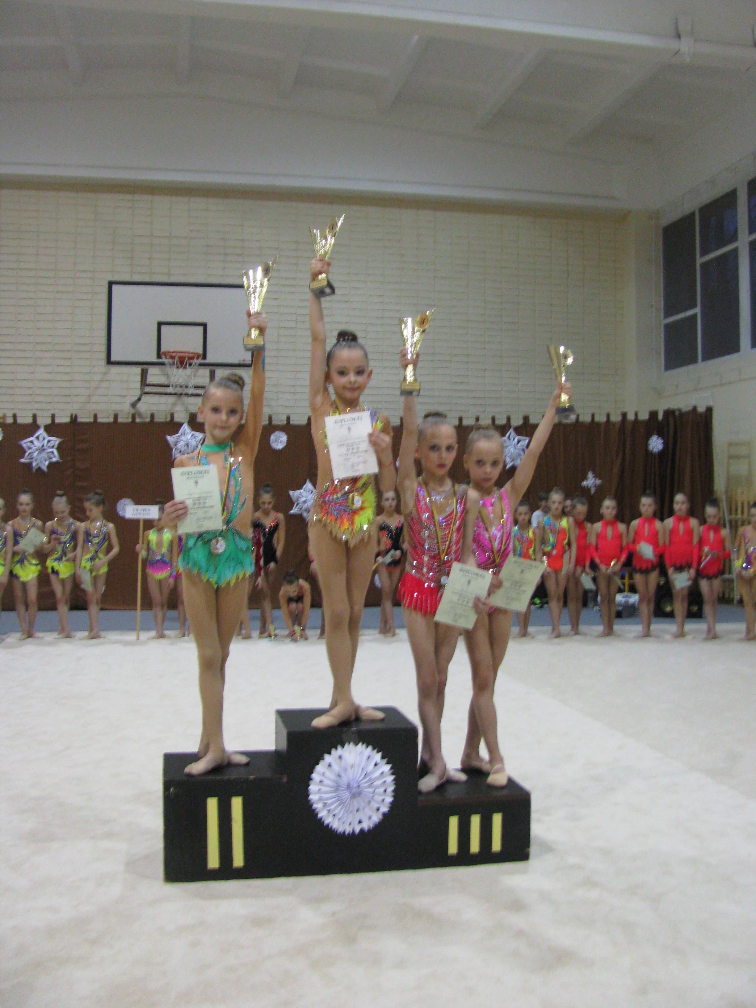 2008m.g. U. Madzajūtė - 1v., S. Razokaitė-2v.
