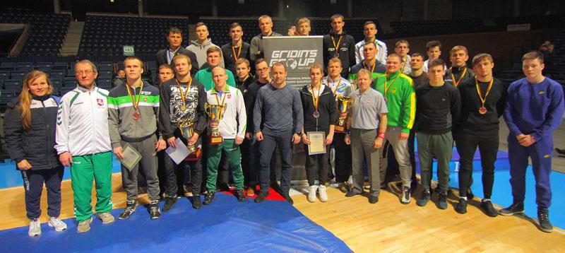 Klaipėdos imtynininkų komanda