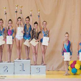 Klaipėdos komanda iškovojusi 1 vietą