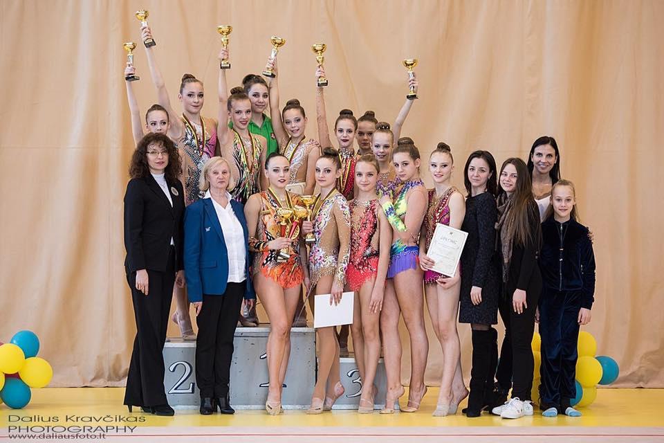 Klaipėdos meninės gimnastikos komanda