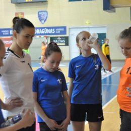Su trenere J. Mikalauskiene