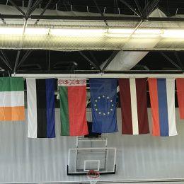 Turnyro dalyvių valstybių vėliavos