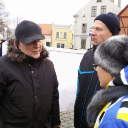 Sporto centro direktorius E. Klimas ir treneriai
