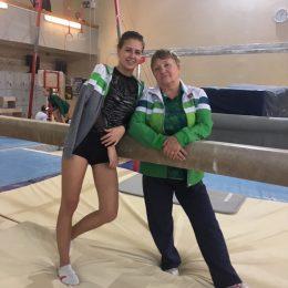 Su trenere Olga Malyševa