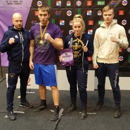Nugalėtojai ir prizininkai su treneriu G. Vaitkumi